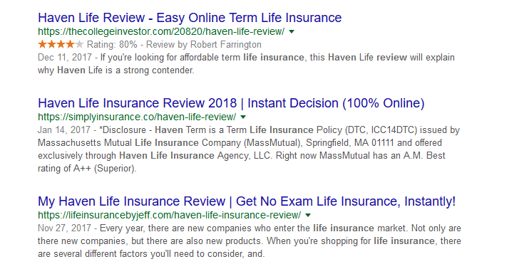 find cheap life insurance