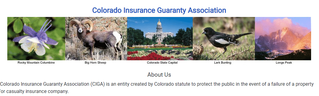 colorado guaranty association