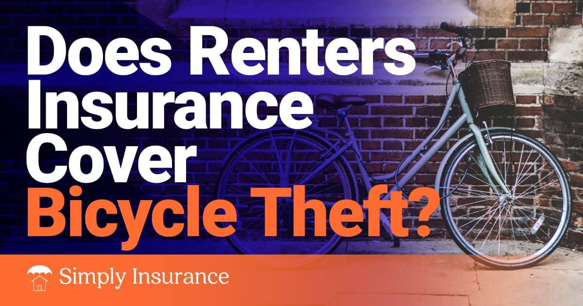does renters insurance cover bicycle theft
