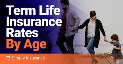 term life insurance rates by age