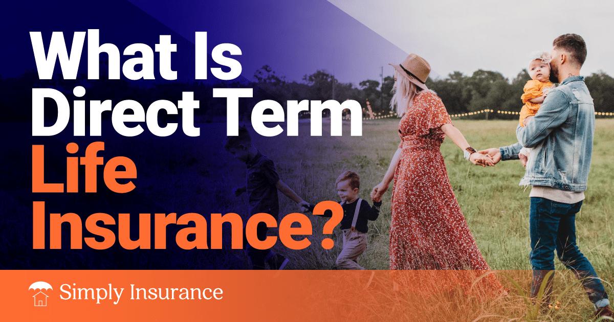 direct term life insurance