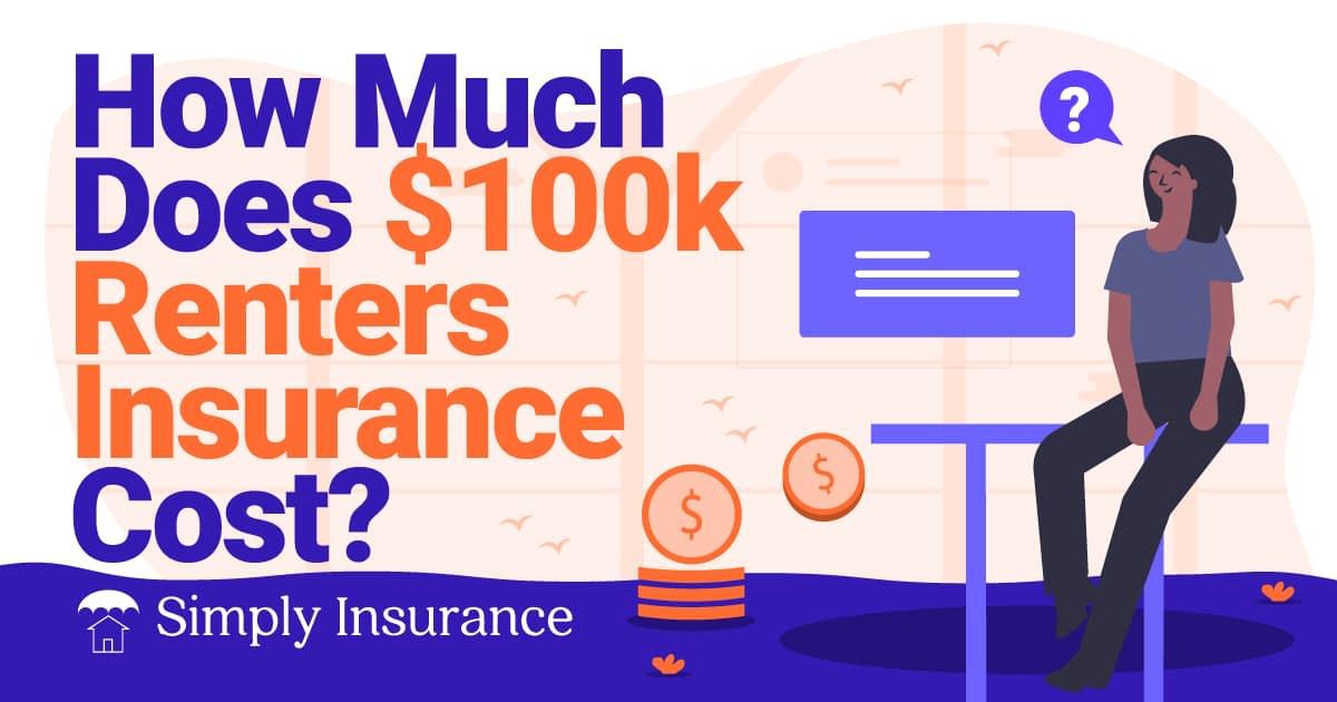 how much is 100,000 in renters insurance