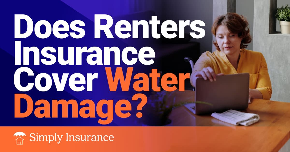 does renter insurance cover water damage