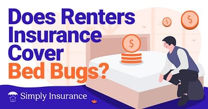 does renters insurance cover bed bugs