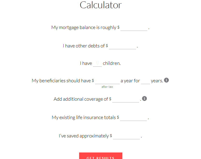 ladder life insurance calculator