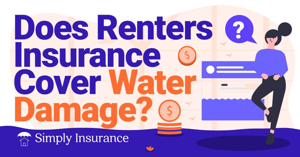will renters insurance cover damage from water