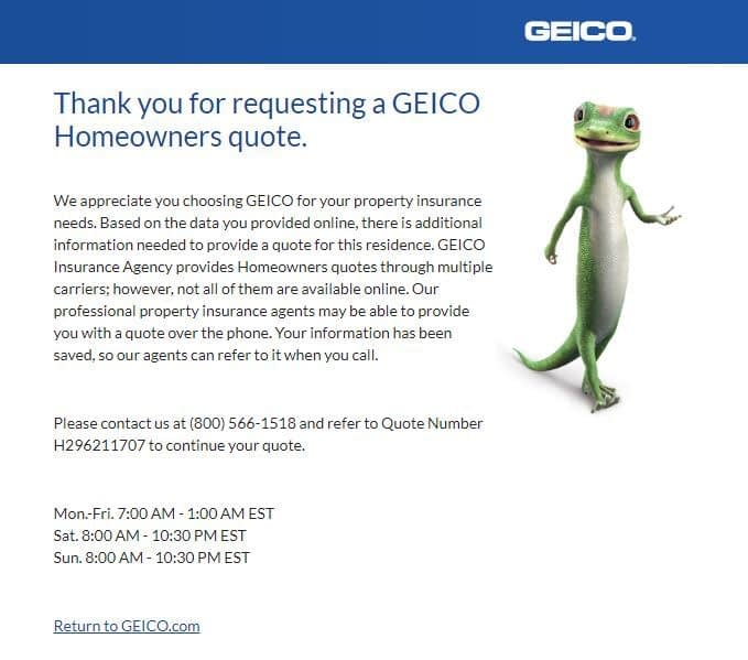 geico reviews