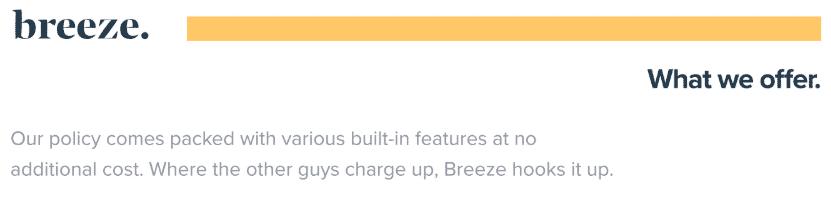 meetbreeze built in features