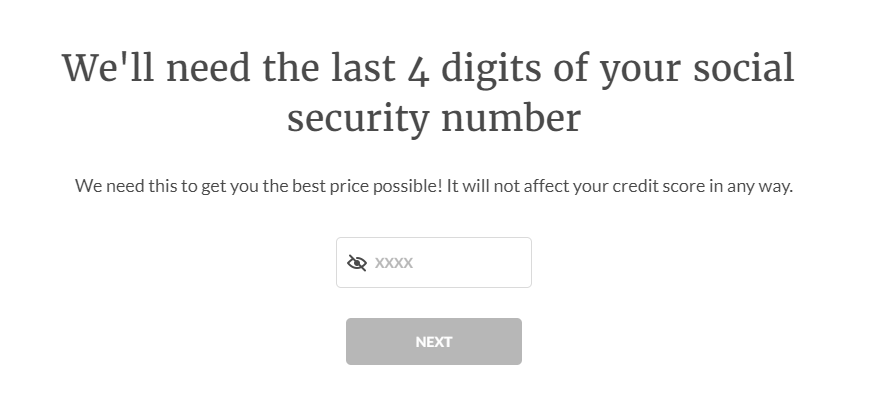 """""""soft pull"""" on your credit"""