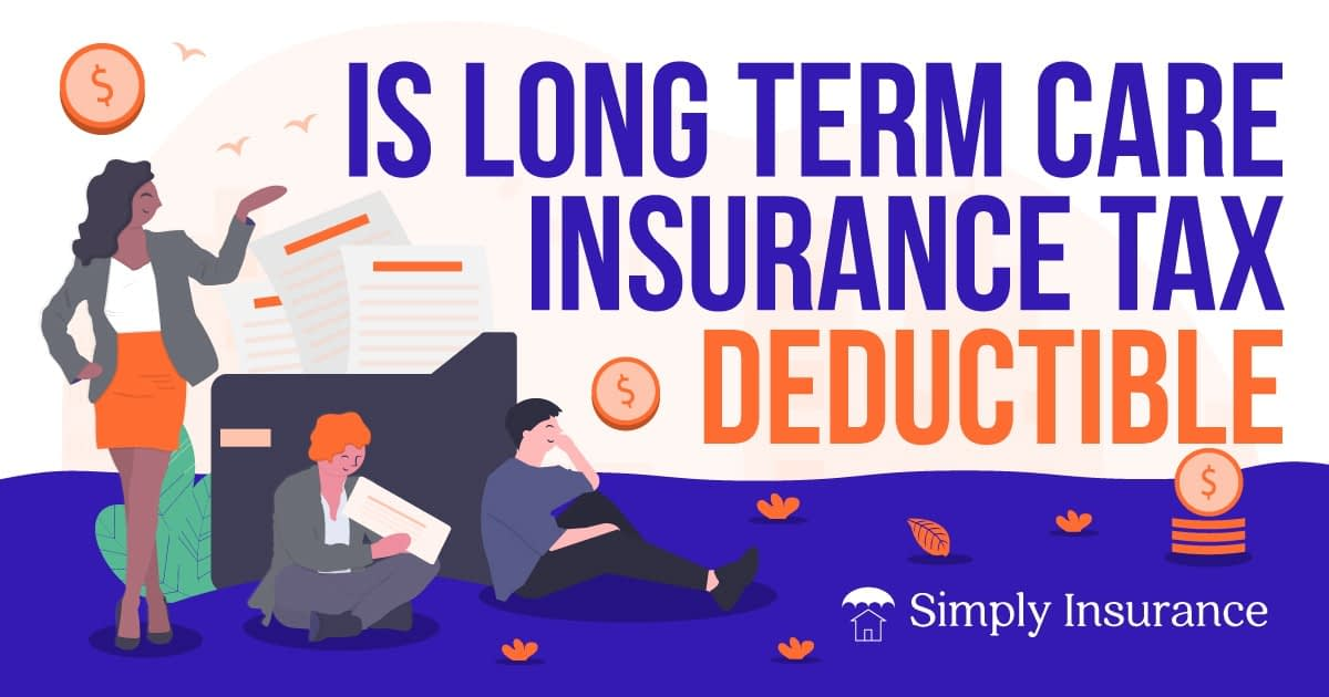 is long term care insurance tax deductible