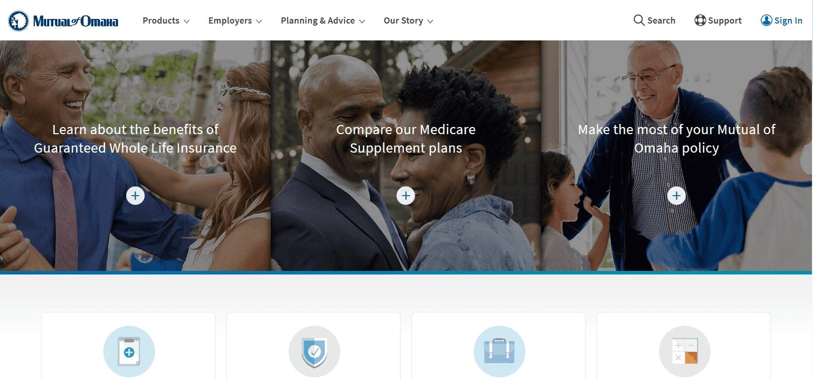 mutual of omaha homepage