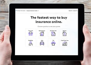 simply insurance home page