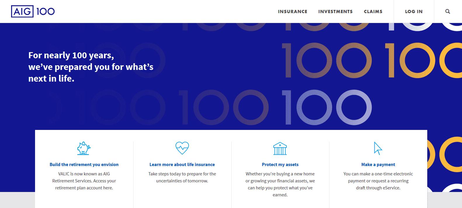 aig homepage