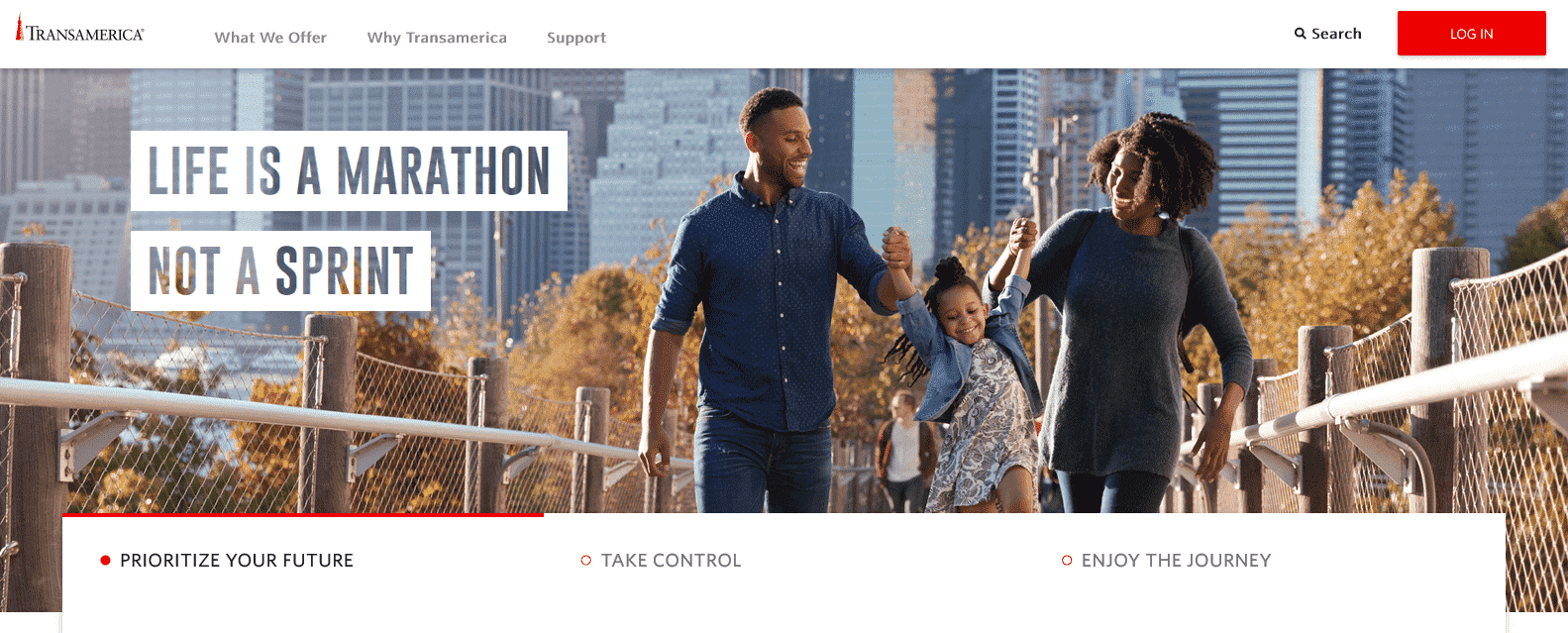 transamerica homepage